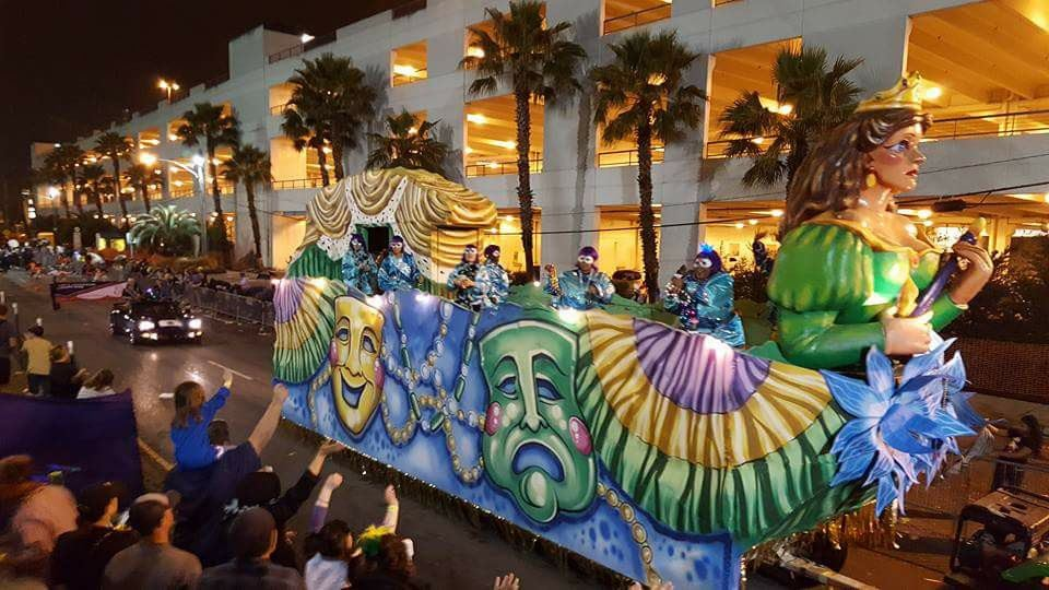 Krewe of Pandora Parade